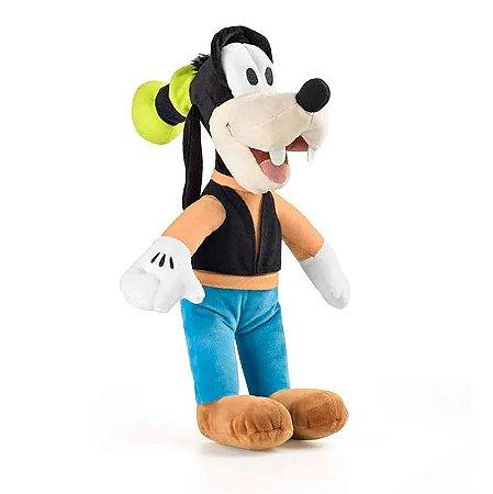 Pateta Boneco de Pelúcia Disney 33cm com Som