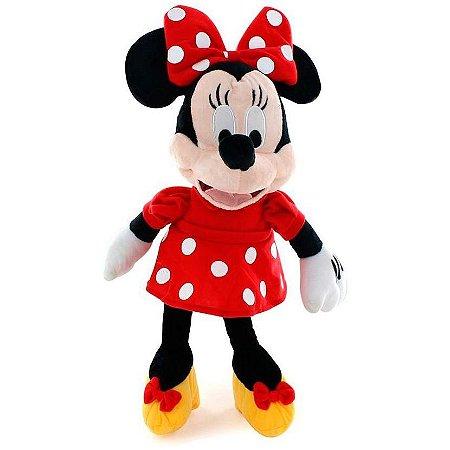 Minnie de Boneco de Pelúcia Disney 33cm com som
