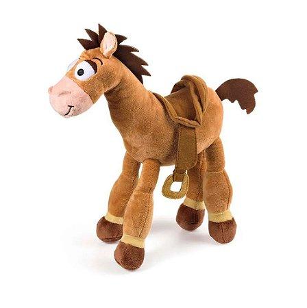 Cavalo Toy Story Boneco de Pelúcia Bala no Alvo 30cm com Som