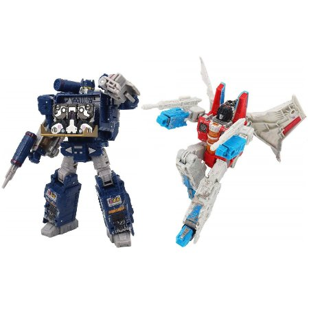 Transformers Generations Starscream Soundwave