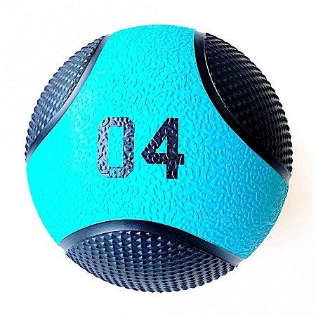 Medicine Ball 4Kg PRO - Bola de Pilates para Treino Funcional