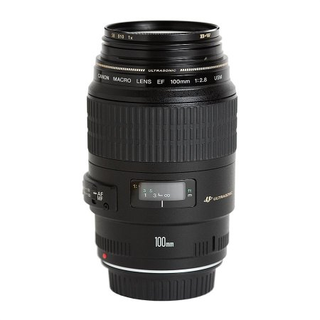 Lente Canon Macro EF100mm F2.8 USM