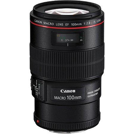 Lente Canon EF 100mm f/2.8L Macro IS USM