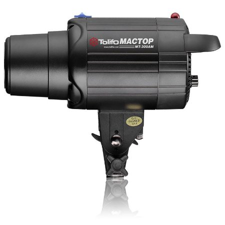 Flash para Estúdio Fotográfico Tolifo MT-300Am Tocha 300w 220v