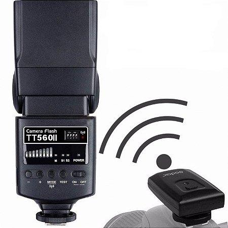 Flash Speedlite Godox TT560 II Rádio Flash Universal