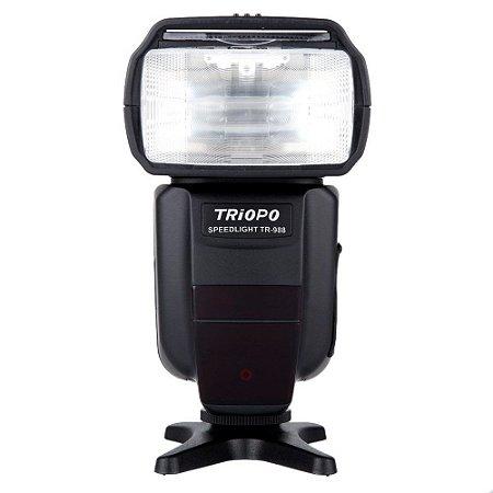 Flash Speedlite Triopo TR-988 - para Canon e Nikon - TTL