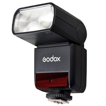 Mini Flash Speedlite Godox TT350N - para Nikon