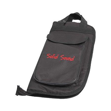 Capa para Baquetas Solid Sound Luxo