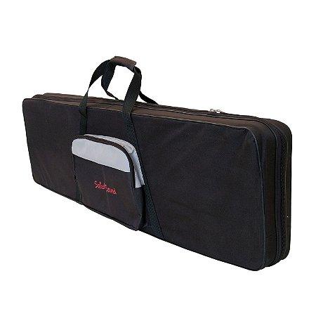 Case para Teclado 61 Teclas Solid Sound Hard Bag