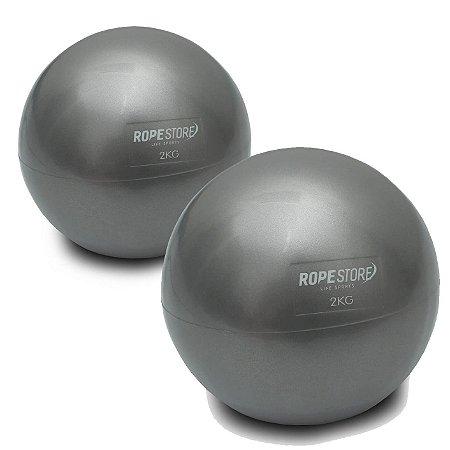 Toning Ball 2Kg - Bola Tonificadora Par