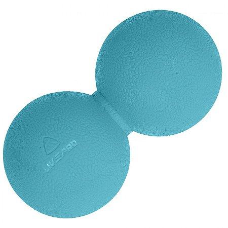 Bola de Massagem Amendoim - 14x6,5cm - Liveup Sports
