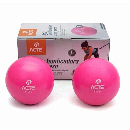 Toning Ball 1Kg - Bola Tonificadora - Par ACTE