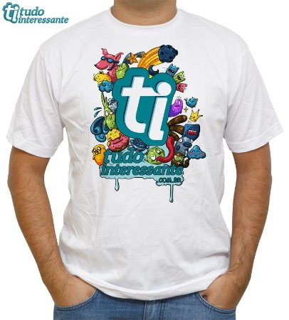 Camiseta Tudo Interessante