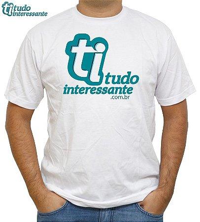 Camiseta Tudo Interessante - Logo