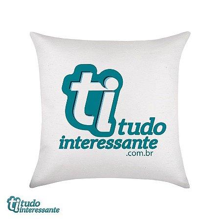 Almofada Tudo Interessante - Logo