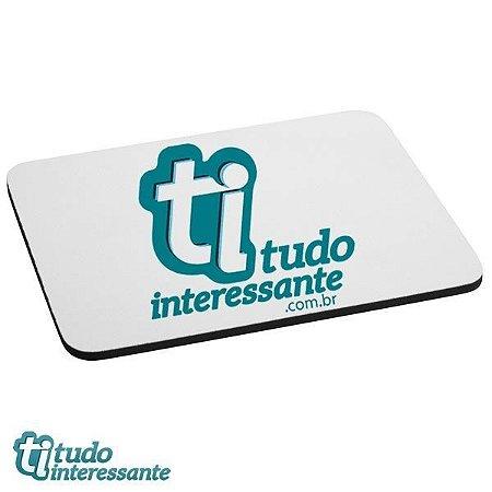 Mouse Pad Tudo Interessante - Logo