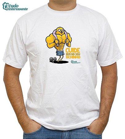 Camiseta  Cuide bem do seu Bixinho