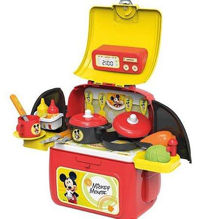 Mochila maleta cozinha - Mickey Mouse