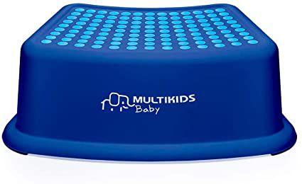 Degrau Infantil com Anti Derrapante Menino - Multikids