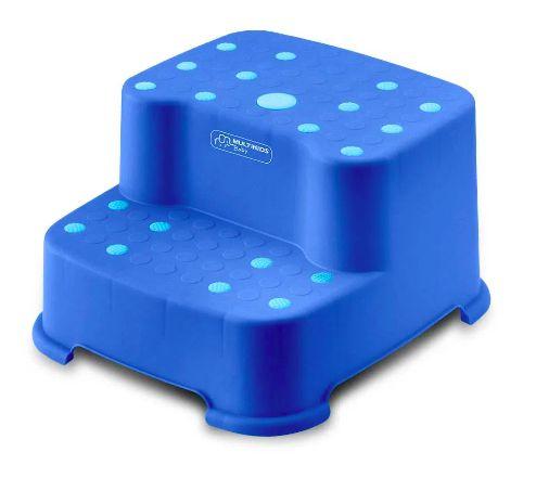 Escadinha Infantil Dois Degraus Azul - Multikids
