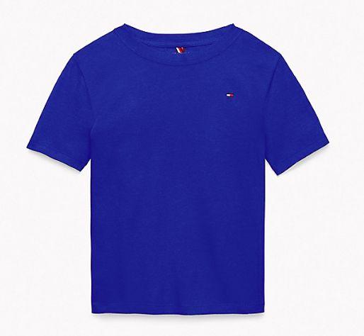 Camiseta algodão Azul Bic - Tommy Hilfiger