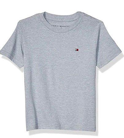 Camiseta algodão Mescla - Tommy Hilfiger