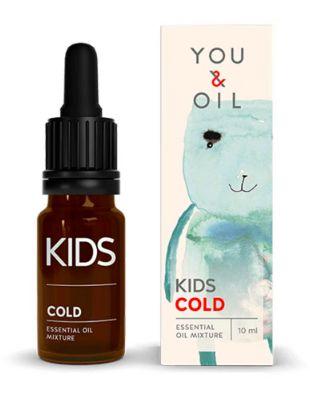 Blend Óleo Essencial Orgânico Infantil Gripe com secreção - You & Oil
