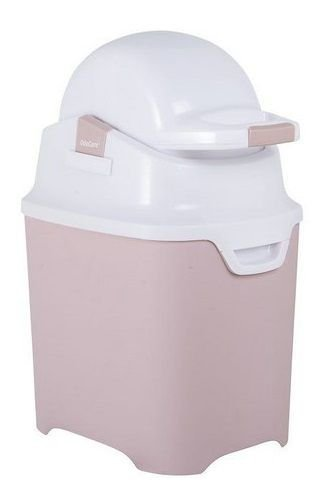 Lixeira OdoCare Anti-odor Rosa - Kiddo