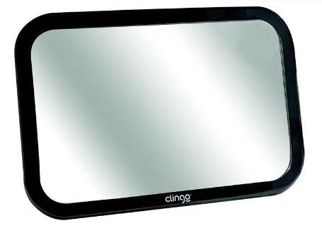 Espelho Retrovisor Retangular para Carro Square - Clingo