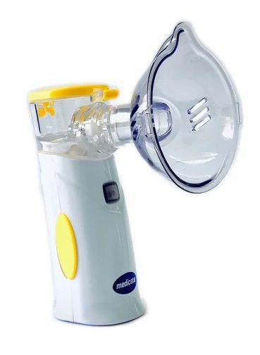 Inalador Air Mash Colors com bateria recarregável Amarelo - Medicate