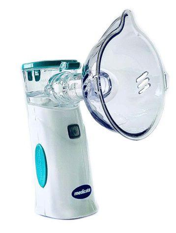 Inalador Air Mash Colors com bateria recarregável Verde - Medicate