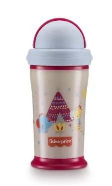 Copo Glow In The Dark Playful Rosa - Fisher Price
