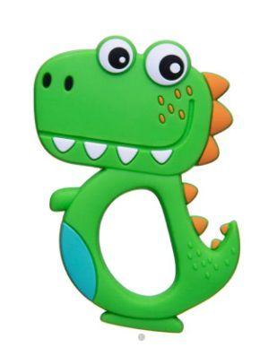 Mordedor de Silicone Dino Verde Girotondo Baby