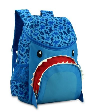Mochila Escolar Tubarão Super Pets
