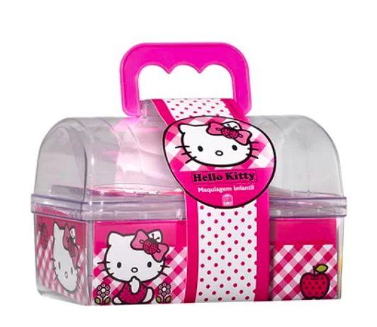 Maleta de Maquiagem Hello Kitty