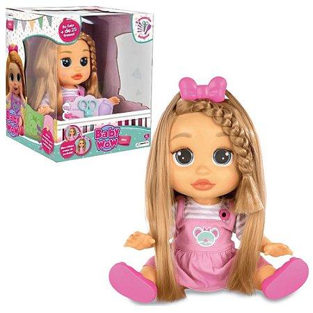 Boneca Baby Wow Mia Cresce Cabelo