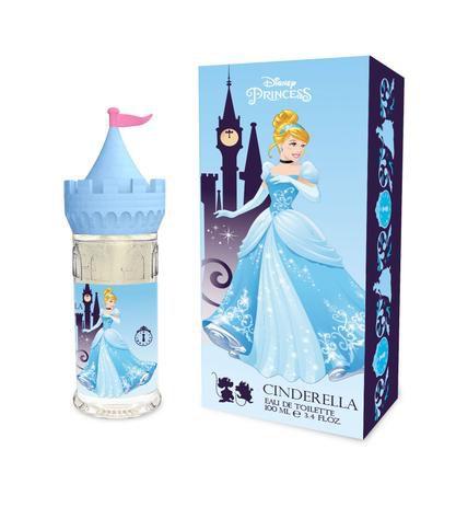 Perfume Infantil Cinderela Castelo