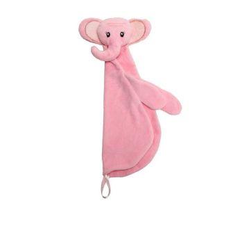 Naninha Algodão Elefante Rosa - Baby Pil
