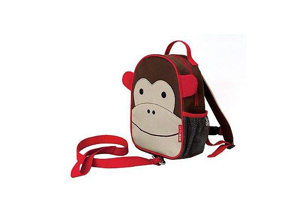 Mochila com cinto Skip hop Macaco