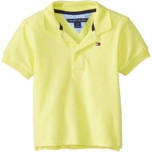 Polo Amarela Neon - Tommy Hilfiger