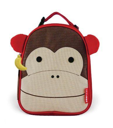 Lancheira Skip Hop Macaco personalizada com nome