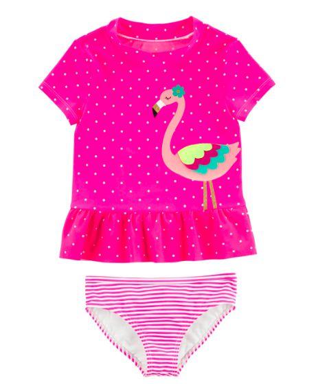 Conjunto banho Carter's Flamingo