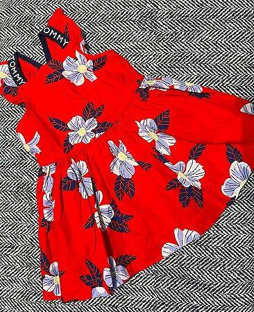 Vestido Florido flutter - Tommy Hilfiger