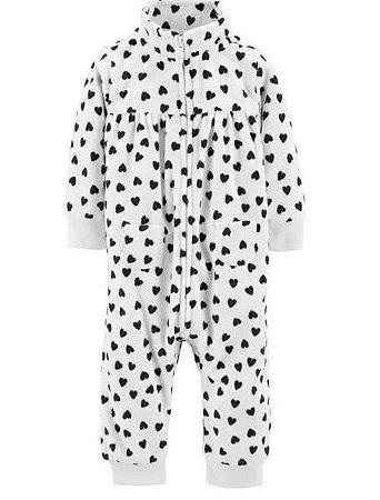 Macacão pijama PB flanelado Carters