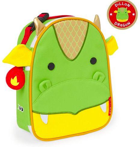Lancheira Skip Hop Dragão personalizada com nome