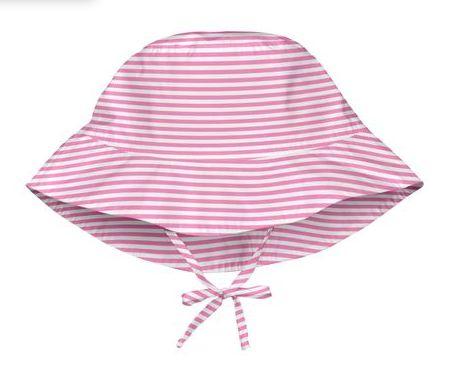 Chapéu de Banho com protecao Iplay Listras Rosa