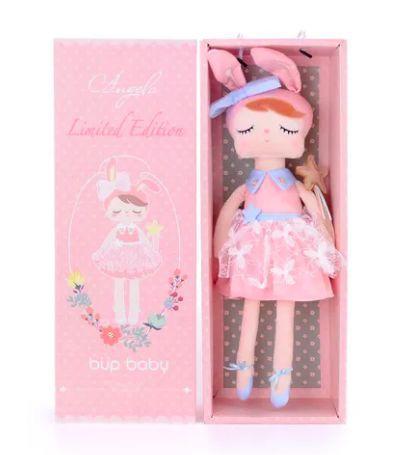 Boneca metoo angela fada com caixa e personalizada com nome