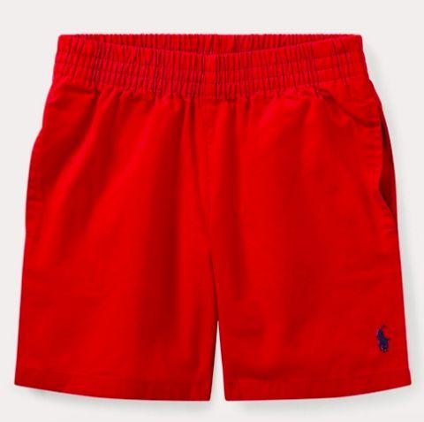 Bermuda vermelha Ralph Lauren