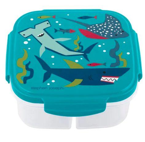 Marmitinha com compressa de gelo Stephen Joseph Tubarão