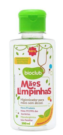 Refil Sanitizante sem álcool para bebe Mãos Limpinhas Bioclub